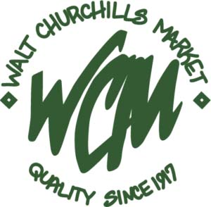 Walt churchill's logo